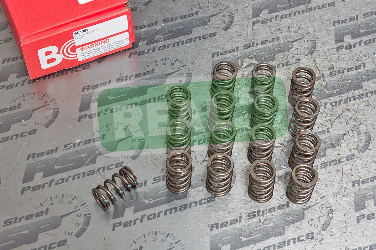 Brian Crower Springs Retainers for 3SGTE MR2 Celica