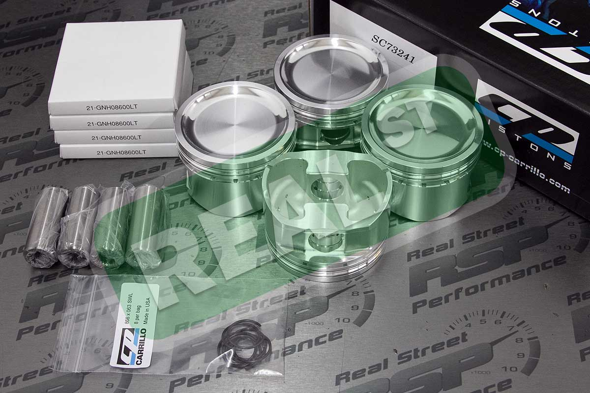 Details about CP Forged Pistons S13 S14 S15 Silvia SR20DET 8 5:1 86mm  SC73241