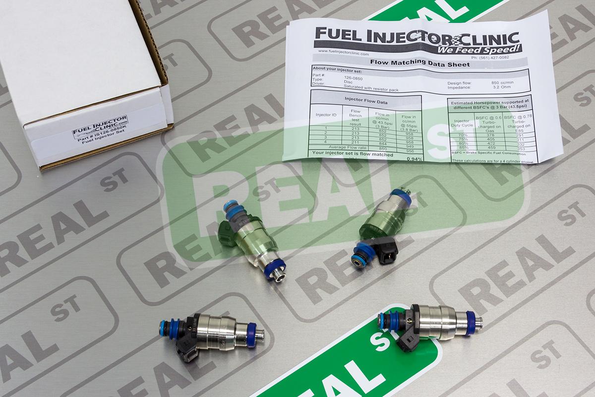 FIC 750cc Fuel Injectors Eclipse 90-99 DSM 4G63 Turbo