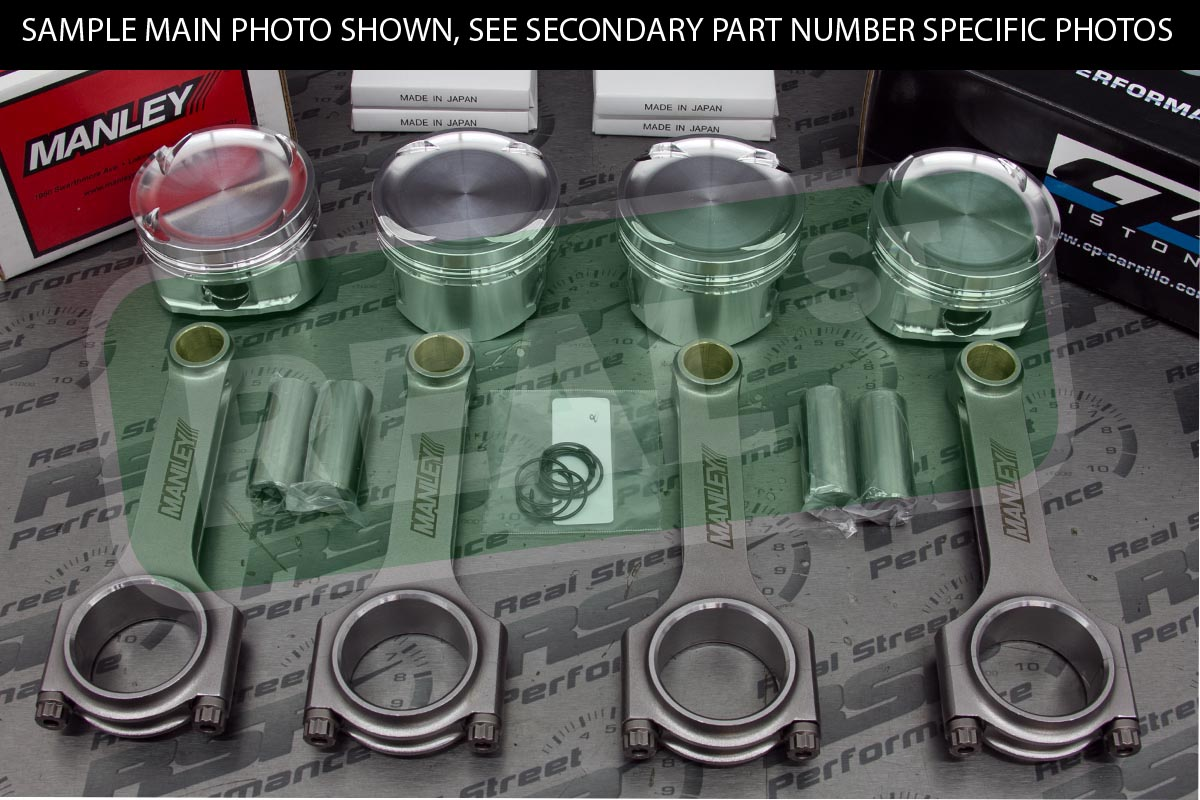 Details about CP Pistons Manley Rods Tsx Accord Crv K24 K24A 11 5:1 89mm