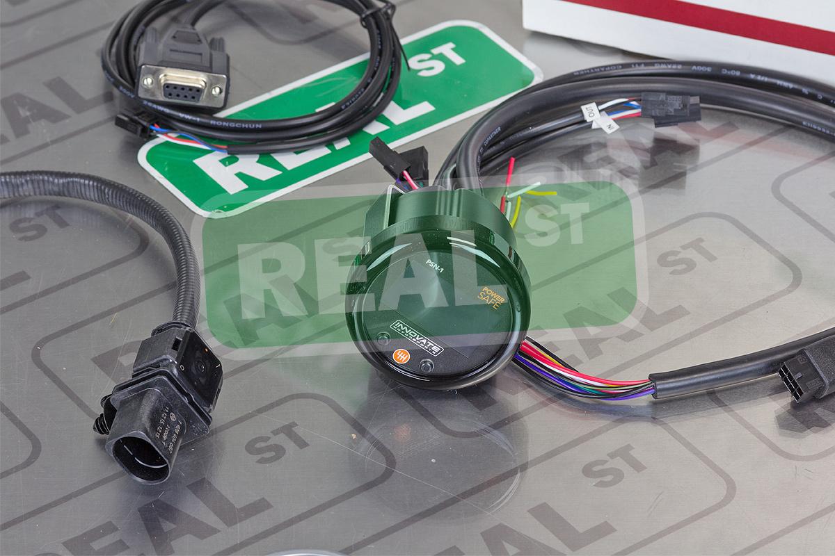 Innovate Psn 1 Powersafe Nitrous Bottle Press Wideband O2 Gauge Innovative Wiring Kit 3893