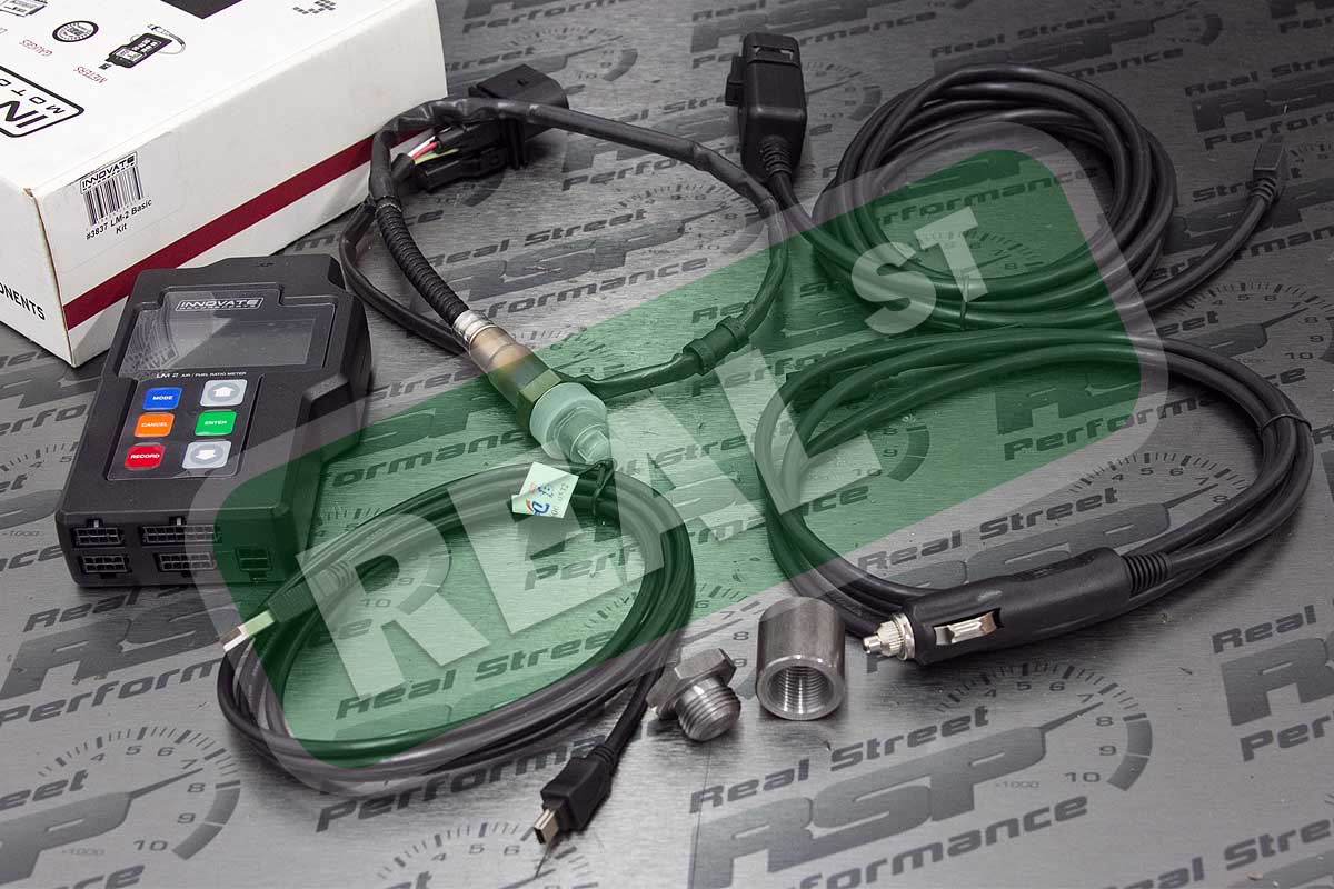 Details about Innovate LM2 Basic Wideband o2 02 AFR Air Fuel Ratio Kit OBD2  Logger 3837