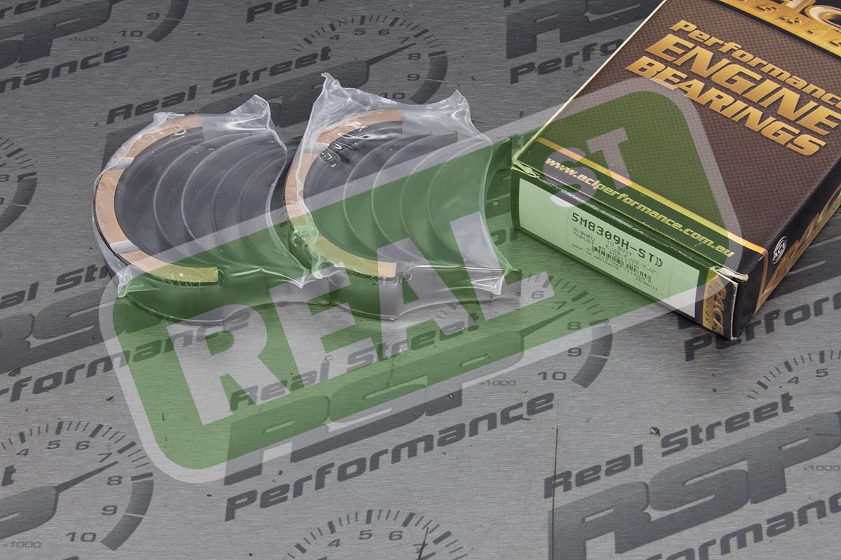 ACL HX Race Main Bearing Set Fits Impreza WRX EJ205 EJ255 STi EJ257 Flange #5