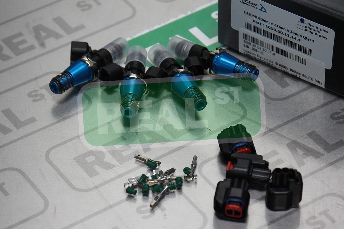 Fuel Injectors ev6 nippon Adapters connectors mr2 wrx impreza 3sgte ej20 ej25 ID