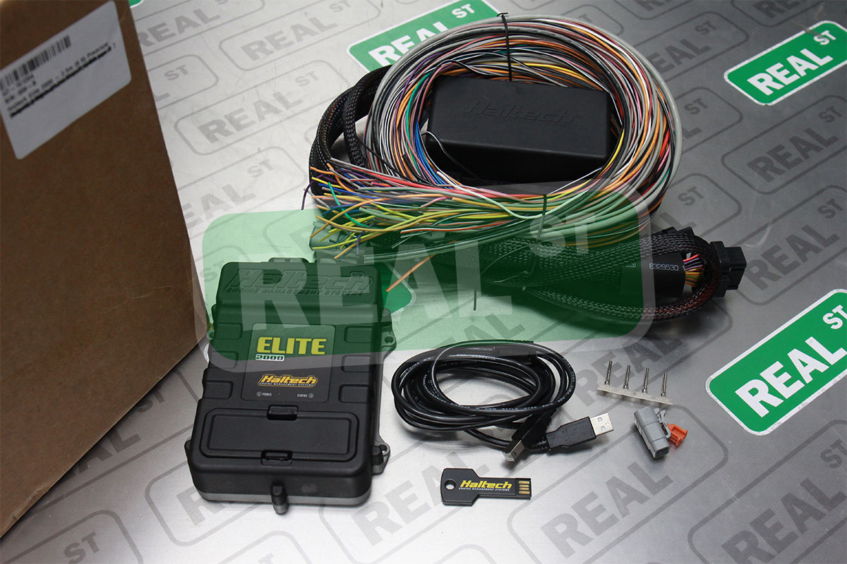Details about Haltech Elite 2000 + Premium Universal Wire-in Harness on