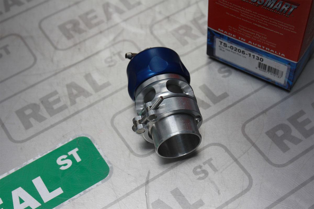 TURBOSMART DUAL PORT BLOW OFF VALVE TURBO BOV 38MM BLUE UNIVERSAL