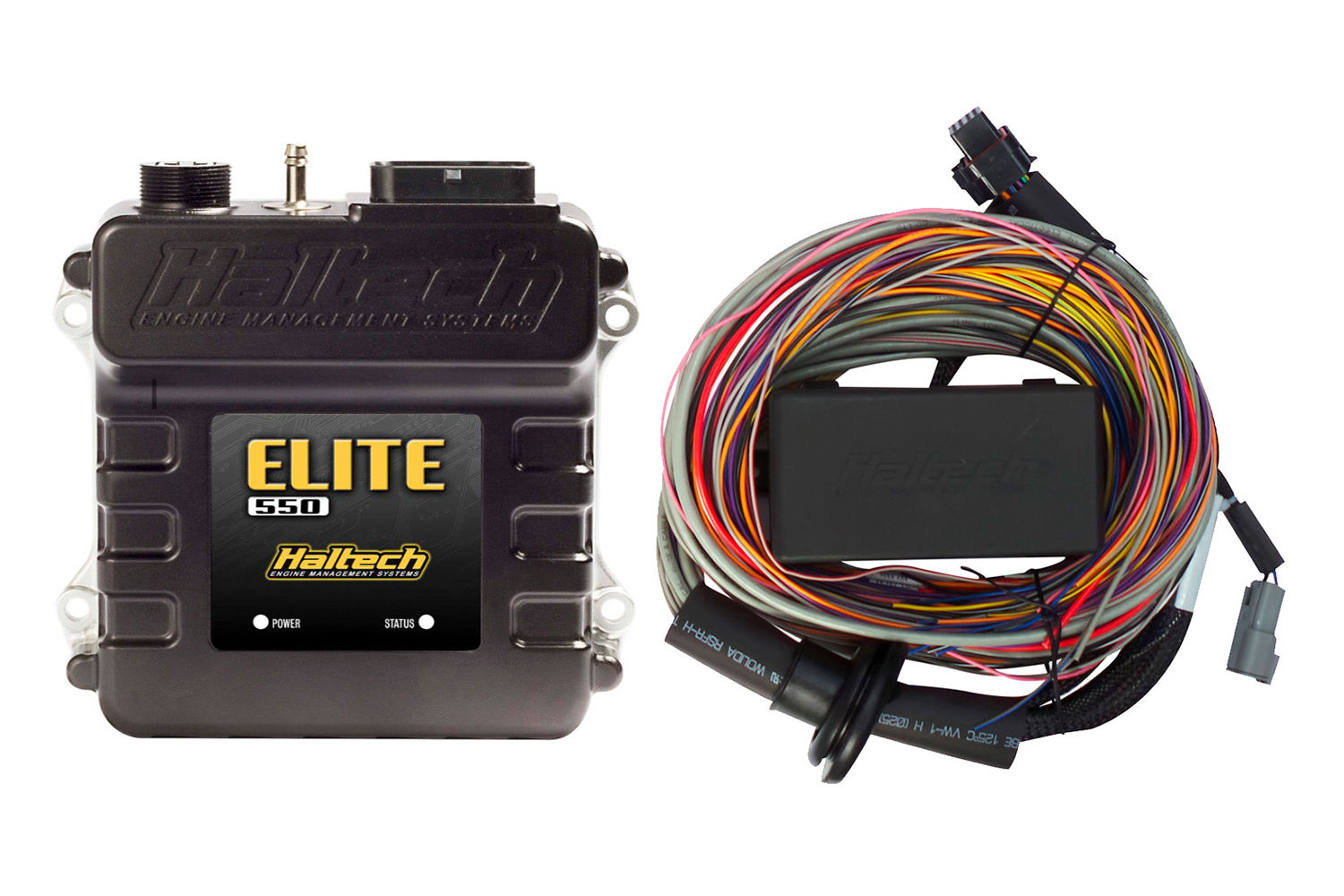 Details about Haltech Elite 550 + Premium Universal Wire-in Harness on