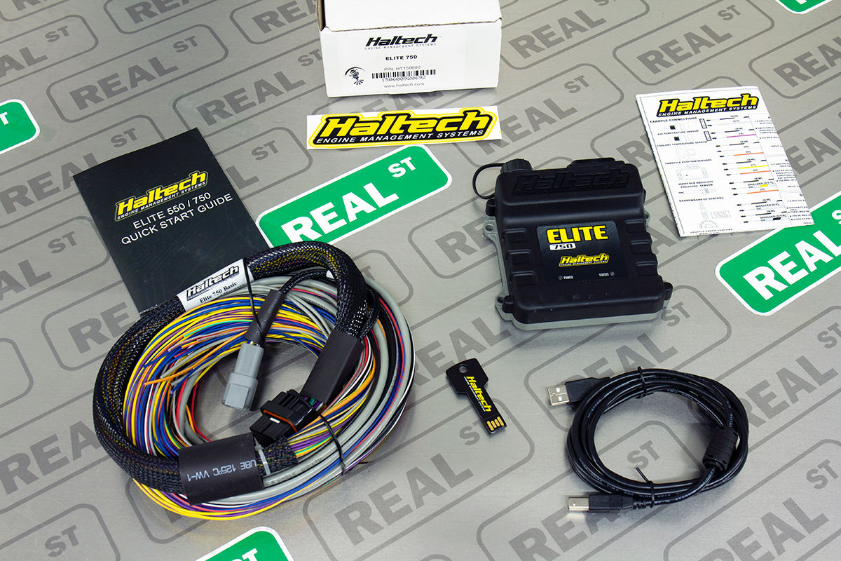 Details about Haltech Elite 750 + Basic Universal Wire-in Harness Kit on