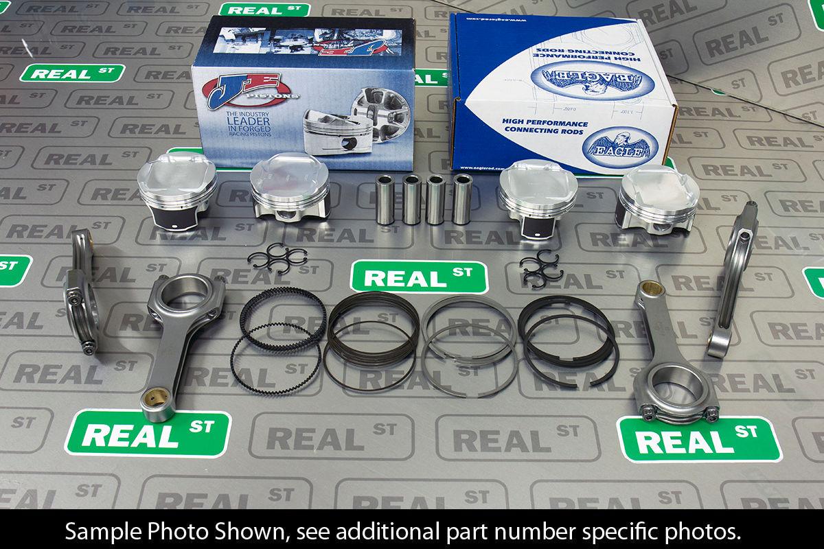 Details about JE Pistons Eagle H Beam Rods for Impreza WRX Sti EJ255 EJ257  99 5mm 8 5:1 CR