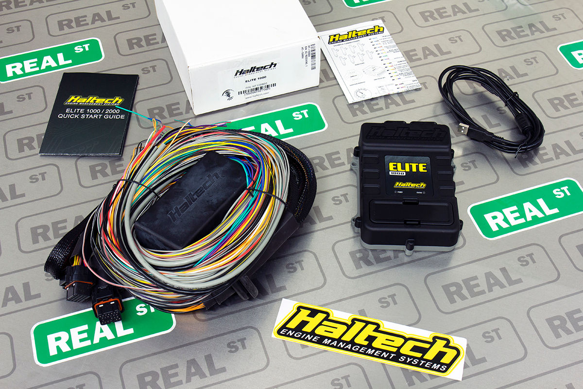Details about Haltech Elite 1000 + Premium Universal Wire-in Harness on
