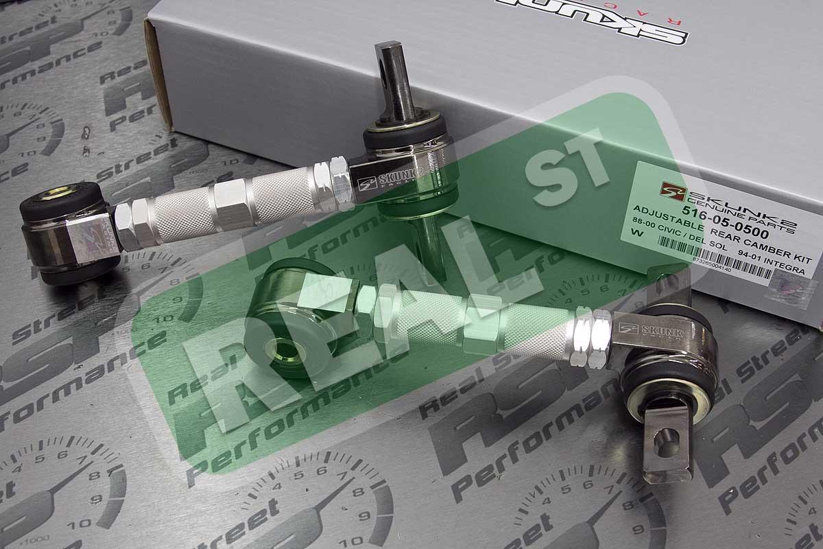 Skunk2 Pro Series Rear Camber Kit for 88-00 Civic CRX Del Sol 90-01 Integra