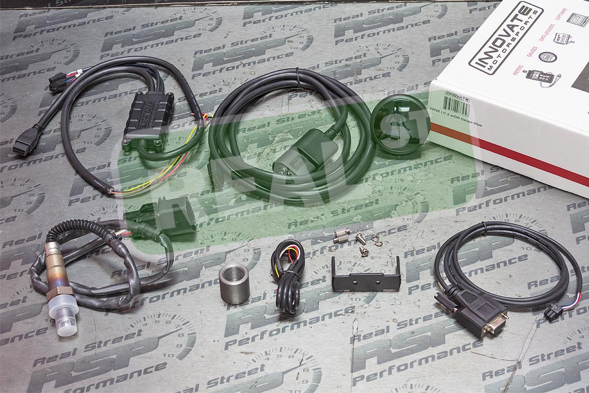 Innovate Db Wideband O2 Air Fuel Ratio Meter Gauge Blue Lc 2 3795 Ebay Innovative Wiring